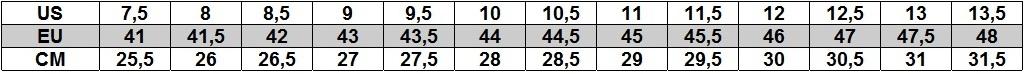 Timberland tabela rozmiarów męska