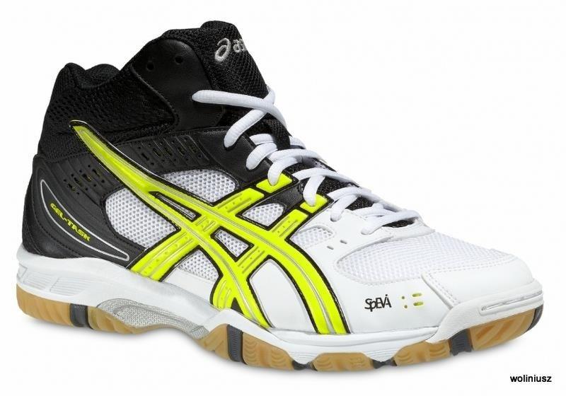 buty do siatkówki asics wysokie