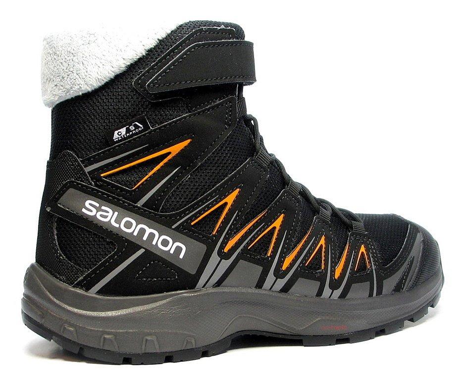 Juniorskie buty zimowe XA Pro 3D marki Salomon rozmiar 37