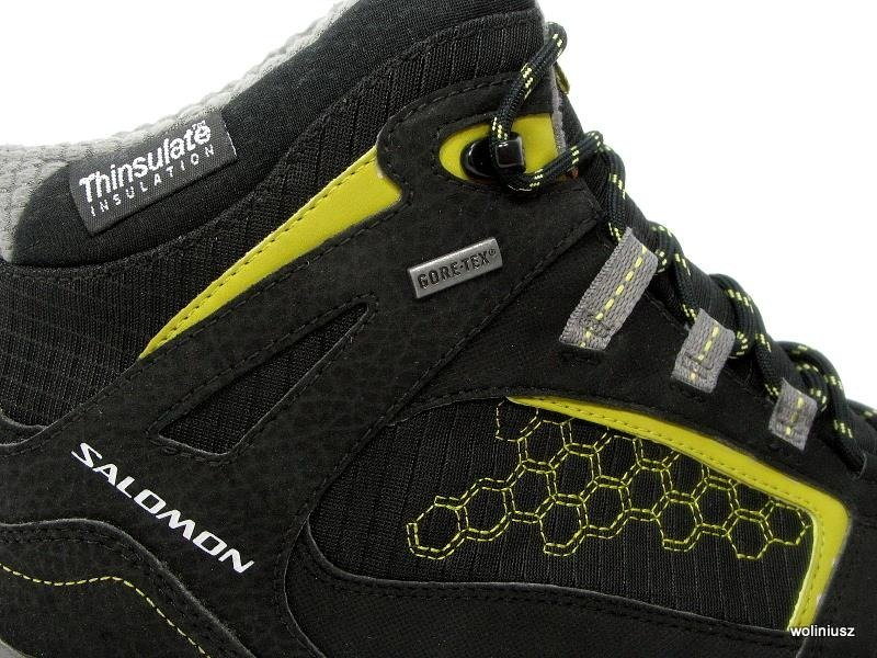 Męskie buty Salomon MADAWASKA TS GTX Gore Tex (327101)