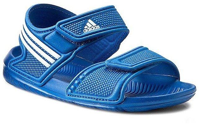 952580a7d9cc3 ... Sandały dziecięce Adidas AKWAH 9 K (S74680) ...